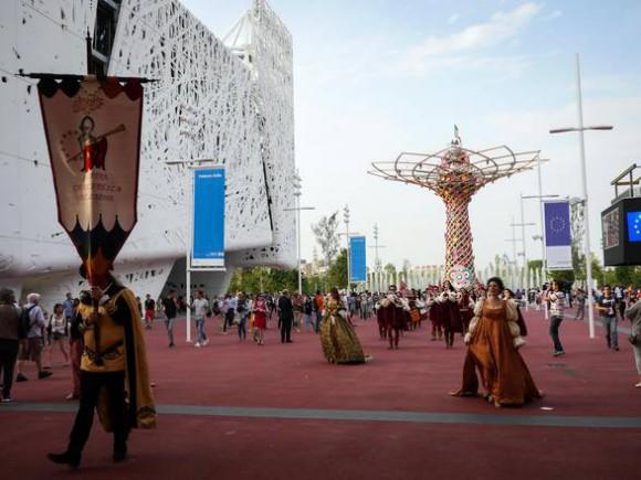 Expo: Abruzzo con dame e cavalieri, Giostra cavalleresca