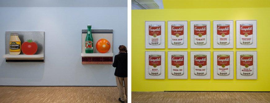 arts-foods-Wesselmann-Warhol-inexhibit
